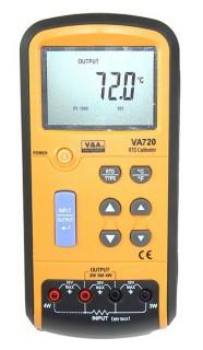 [ VA720 Pt100 RTD Calibrator ]