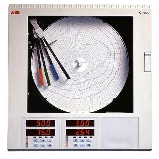 [ ABB Circular Paper Chart Process Recorders ]