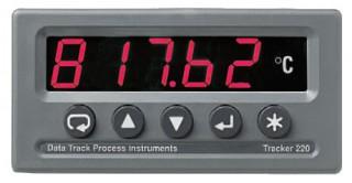 [ Data Track Tracker 220 Series Process Indicators ]