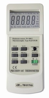 [ TM-917HA Precision Pt100 & TC Thermometer ]