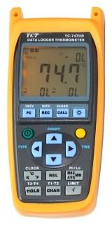 [ YC Hand-held Data Logger Thermocouple Thermometer ]