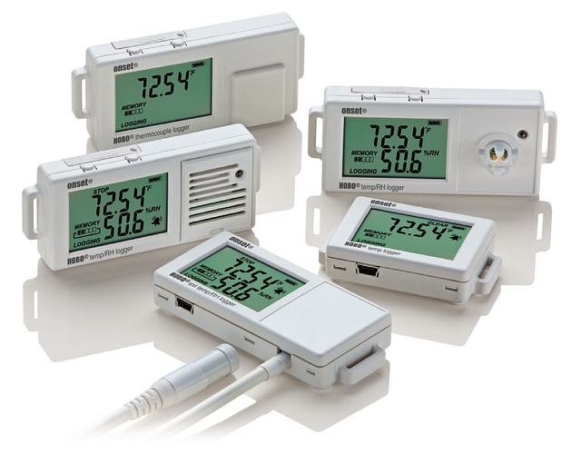 Hobo Temperature & Humidity Data Loggers