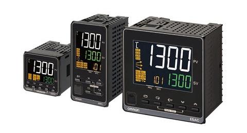 Omron E5AC-T & E5CC-T Programmable Temperature Controllers