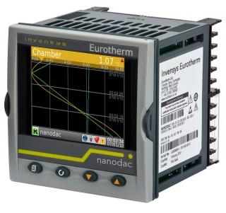 [ Eurotherm nanodac Temperature Controller & Recorder ]