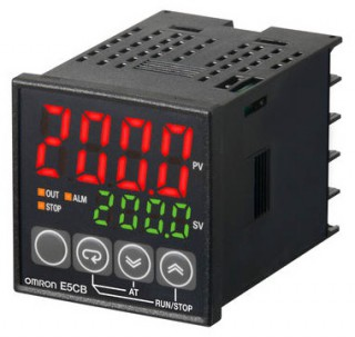 [ Omron E5CB Low Cost Temperature Controllers ]