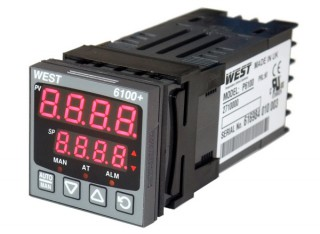 [ West 6100+ Temperature & Process Controllers ]