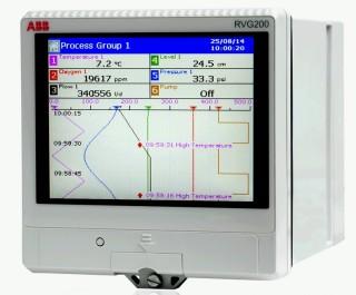 [ ABB RVG200 Videographic Process Recorder ]
